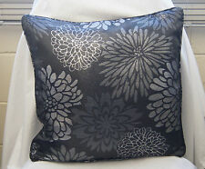 "1 Black and Silver Vegas Cushion Cover 18""x 18"""