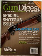 GUN DIGEST Magazine SPECIAL SHOTGUN ISSUE Guns for Sale DEFENSIVE Shotgun LOADS