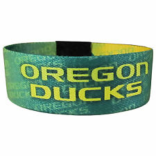 NEW! Oregon Ducks Green Yellow Quack Bracelet Wristband Power Tornado Band