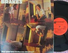 Brakes ORIG OZ Promo LP For why you kicka my donkey? NM '79 Magnet Power Pop