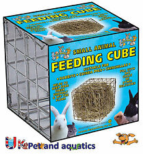 Lazy Bones Feeding Cube For Small Animals Small