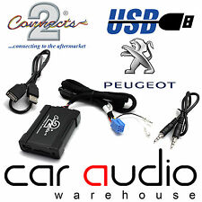 Connects2 CTAPGUSB010 Peugeot 206cc 2002 Onwards USB SD AUX IN Interface Adaptor