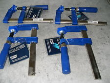 "4 ECLIPSE 6"" SCREW CLAMPS F.CLAMPS"