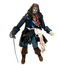 "Disney Pirates of the Caribean Movie JACK SPARROW face paint  6"" action figure"