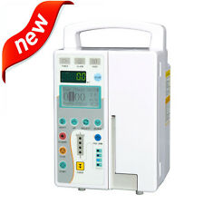 CE Infusion Pump IV & Fluid Equipment with voice Alarm Monitor For Vet or Human