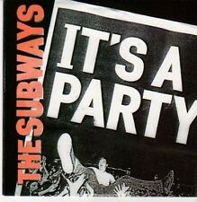 (CE967) The Subways, It's A Party - 2011 DJ CD