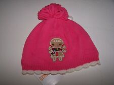 NWT GYMBOREE WINTER CHEER PINK GINGERBREAD GIRL HAT 12-24 MO Free US Shipping