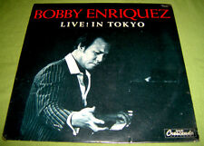 PHILIPPINES:BOBBY ENRIQUEZ - Live! In Tokyo LP OPM rare Jazz Fussion,Filipino,