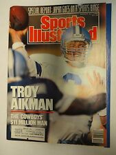 1989 Sports Illustrated Aug. 21st. Troy Aikman Cover