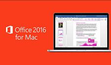 LICENZA/LICENSE MICROSOFT Office Home and Business 2016 Mac