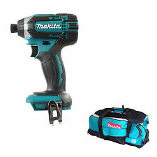MAKITA 18V XPT DTD152 DTD152Z DTD152RFE IMPACT DRIVER AND DK18027 BAG