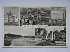 DIFFERDANGE Luxembourg Stade Stadio Stadium football ground old postcard