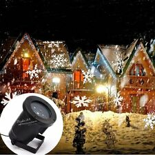 Sparkling Outdoor LED Snowflake Laser Light Projector Lamp For  Xmas Party Décor