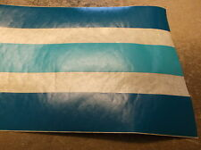 "NOS 1' FOOT MISTY HARBOR PONTOON 5"" DARK TEAL LIGHT TEAL TAN TAPE"