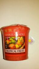 YANKEE CANDLE TROPICAL FRUIT  VOTIVE HUNDREDS LISTED RARE AND AWESOME