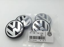 4 Pcs VW Volkswagen PASSAT GOLF GTI WHEEL CENTER CAPS RIM HUB CAP 65mm 3B7601171