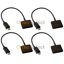 4 Charger Adapter for Apple iPhone 4 to USB Micro ZTE Avid Plus Blade V7 Sonata