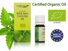 100% PURE ORGANIC WILD MINT ESSENTIAL OIL 5ml | THERAPEUTIC & FOOD GRADE