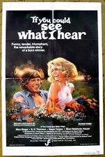 """""""IF YOU COULD SEE WHAT I HEAR"""" the story of LOVE and true WINNER - movie poster"""