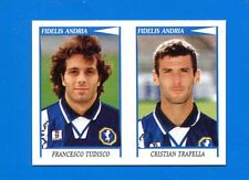 CALCIATORI PANINI 1998-99 Figurina-Sticker n. 499 -TUDISCO-TRAPELL F. ANDRIA-New