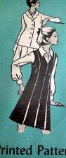 LOVELY VTG 1970s BLOUSE, DRESS, & JACKET Sewing Pattern 14/36