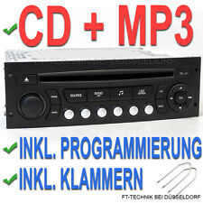 NEU MP3 Citroen C2 C3 C4 C8 Jumper CD Radio Autoradio Spieler Player Stereo RD4