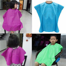 Hot Sale Kids Salon Waterproof Hair Cut Hairdressing Barbers Cape Gown Cloth