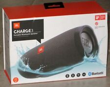JBL Charge 3 Portable Wireless Bluetooth Waterproof Stereo Speaker (Black): NEW!
