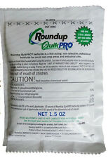Roundup Quick Pro 73.3% Makes 1 gallon 1.5oz packet Dry Round Up Quickpro