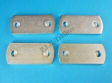 FREE P&P* 4 x 60mm U Bolt Plates - High Tensile - Trailers Horse Box