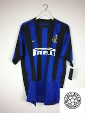 INTER MILAN 03/04 Bnwt * Player Issue * Home Football Shirt (XL) CALCIO JERSEY