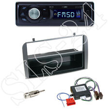 Caliber RMD021 USB-Radio + Alfa Romeo 147/GT 937 2-DIN Blende anthrazit +Adapter