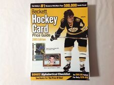 Beckett Hockey Card Price Guide and Alphabetical Checklist 2005 Paperback