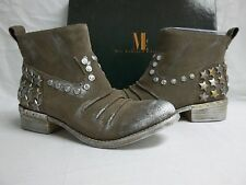 Mia Limited Edition Size 7 M Marshal Taupe Suede Ankle Boots New Womens Shoes
