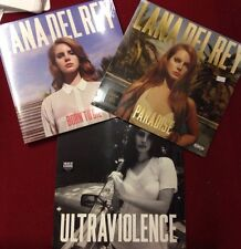 LANA DEL REY- Ultraviolence, Born To Die, Paradise LP SET OF 3 NEW Vinyl Sealed
