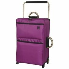 IT Worlds Lightest Extra Light 2 Wheel Medium Suitcase 2.1kg 69cm Purple T8