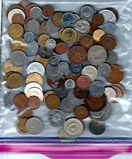 Bulk Lot of 100+ Assorted World Coins + FREE GOLD or SILVER VIAL