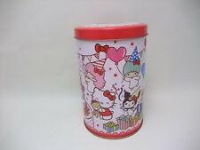 Sanrio Hello Kitty characters My Melody steel can JAPAN  2013