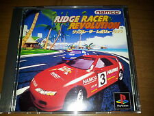 RIDGE RACER REVOLUTION SONY B  PLAYSTATION VIDEOGAMES PS JAP JAPANESE PSX PS1