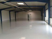 Bodenbeschichtung, Bodenfarbe Beschichtung 2K Bodenversiegelung 25m².ral 7001.