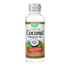 Natures Way Liquid Premium Coconut Oil 296 ml, Low Carb, Cooking