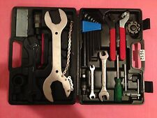 Bike Repairing Tool Set Kit Case Box Universal - 22 Piece Set in Carrycase