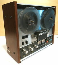 TEAC A-2300S 1/4 Track Reel To Reel Tape Deck-Serviced & Working Well