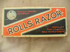ROLLS RAZOR boxed with instructions VINTAGE & COLLECTABLE ex