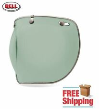 BELL CUSTOM 500 R/T SHORTY MINT GREEN DELUXE BUBBLE FACE SHIELD CHROME TRIM NEW