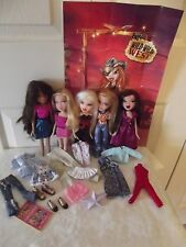 Lot of 5 Bratz Dolls MGA Entertainment With Outfit & Shoes