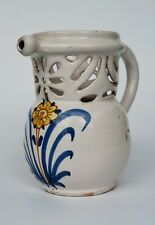 A very rare French faience Delftware tinglazed Puzzle jug 1680 -1720  ...