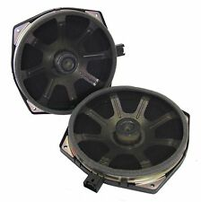 "2x Low profile Car Audio 8"" Mid-range Speaker Kevlar cone door card parcel shelf"