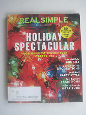 Real Simple - Holiday Spectacular Your Happiest Season Ever - December 2014