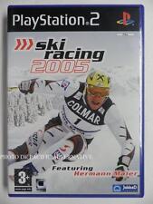 COMPLET jeu SKI RACING 2005 sur playstation 2 PS2 en francais juego gioco sport